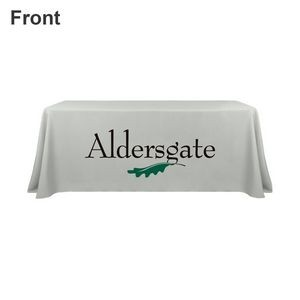 6' Full Color Printed Closed Back Table Throw
