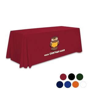 6' Standard Draped Table Throw (One Imprint Location)